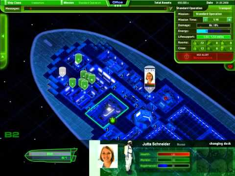 Starship Corporation  - Crew Management Tutorial 1