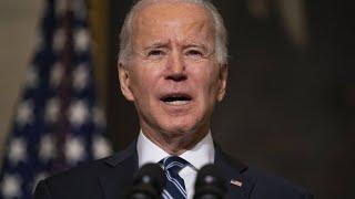 """Präsident Biden: """"Ab sofort können alle geimpft werden"""