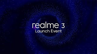 Realme 3 Launch Event