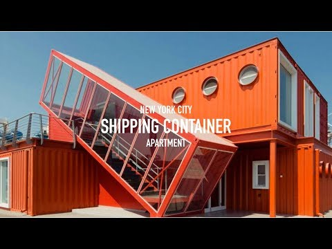 MY NEW SHIPPING CONTAINER NYC APARTMENT!
