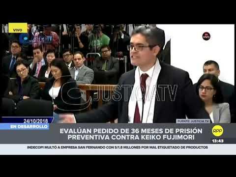 Esto dijo el fiscal José Domingo Pérez sobre del pago de la pauta publicitaria de Fuerza 2011 a RPP