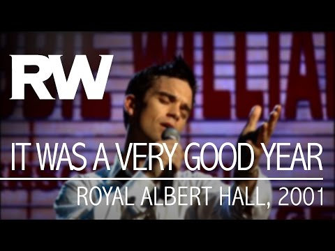 Robbie Williams | It Was A Very Good Year | Live At The Albert 2001