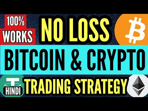 NO LOSS Bitcoin Trading Strategy | BEST Trading Strategy | NO LOSS Only Profit Strategy 100% WORKS