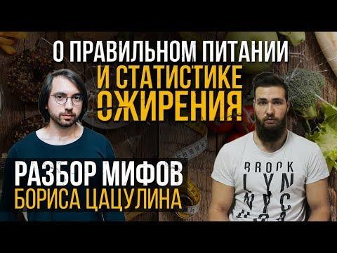 """Борис Цацулин и Мифы про """"Правильное питание"""""""