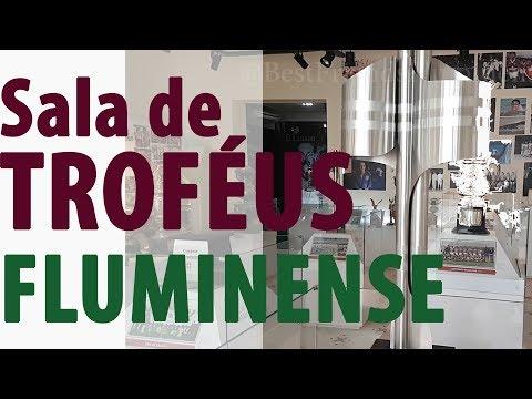 Sala de trofeus e Museu - Fluminense...