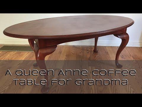 A Queen Anne Coffee Table for Grandma