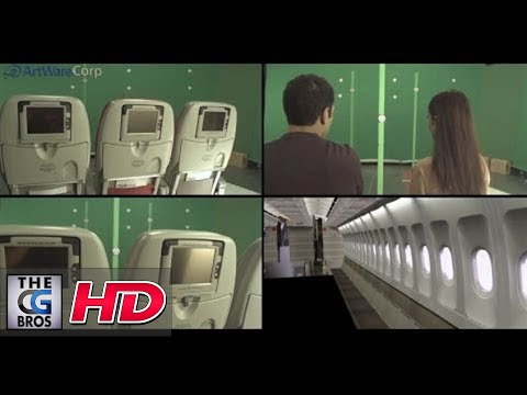 "CGI VFX Breakdowns : ""Royal Jordanian""  - by Artware Corp"