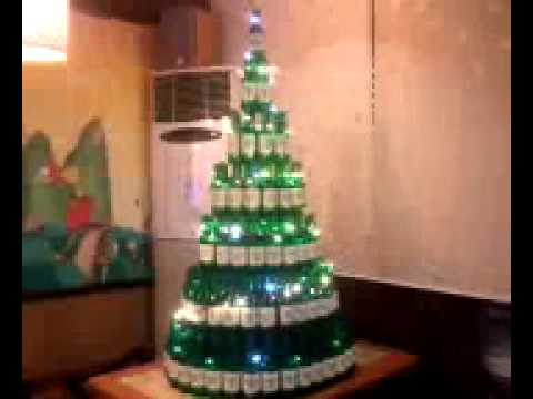 Bottle Christmas Tree