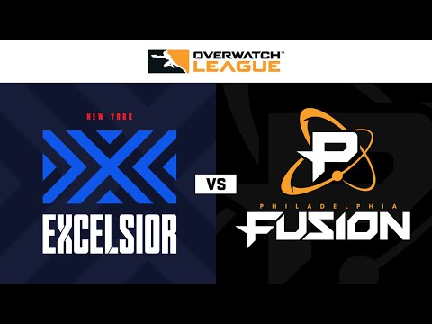New York Excelsior Vs Philadelphia Fusion | Hosted By Washington Justice | Day 1