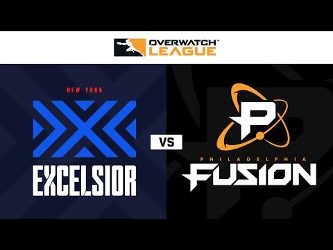 Philadelphia Fusion vs New York Excelsior vod