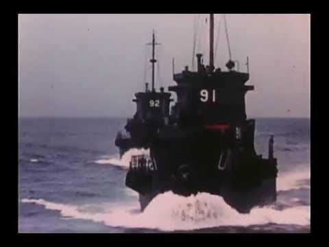 Superior History Documentary 2017: World War II Battleship USS Iowa Fires Main Guns 1944 #315