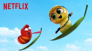 Iceberg Invasion! | Larva Island | Netflix