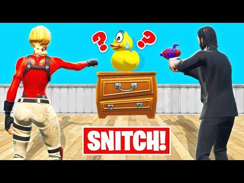 HIDE Or SNITCH PROP HUNT *NEW* Game Mode In Fortnite Battle Royale