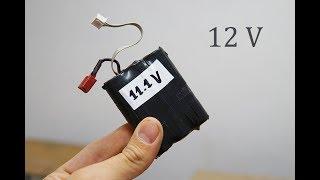 Cómo fabricar una batería de 11,1 Volts [ LITIO ]