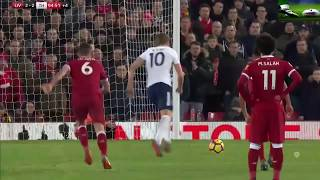 LIVERPOOL VS TOTTENHAM 2 2 ALL GOALS & HIGHLIGHTS 4/2/2018