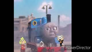 Thomas & Lincoln Loud angry with Rita Loud