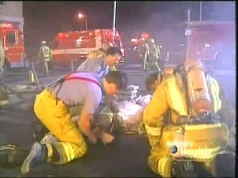 Rescue 911: Firefighters vs. Flaming Collapse & Entrapment