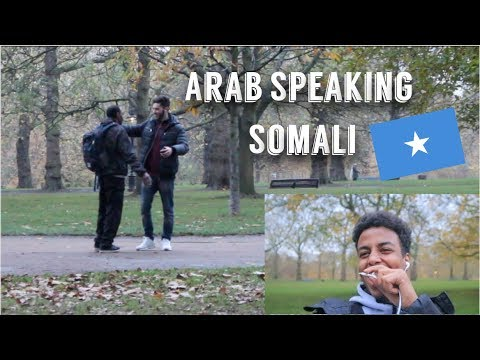 ARAB SPEAKING SOMALI IN PUBLIC PRANK!! thumbnail