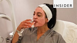 Rosé Facial in New York City