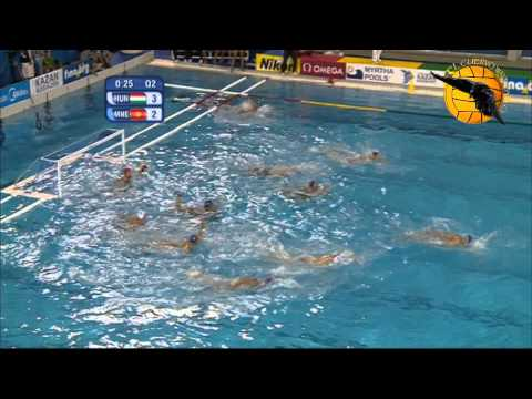 Hungary 8 Montenegro 7 Gold game World Champs Barcelona 2013 3 8 13 water polo