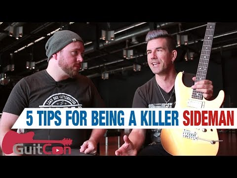 5 Tips For Being A Killer Sideman (With Pete Thorn!) - #GUITCON   GEAR GODS