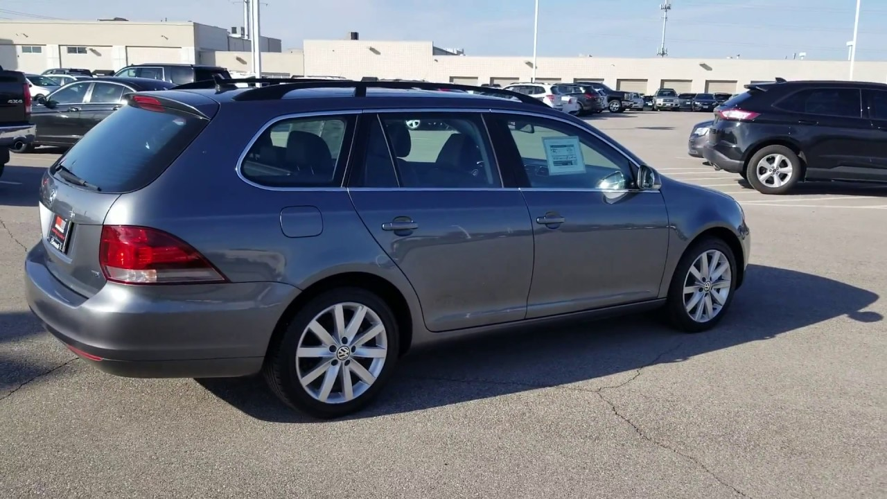 Preowned 2012 VW Jetta Sportwagen 2 0 TDI w/ panoramic sunroof and  navigation