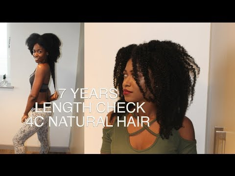 7 Years Length Check | 4C Natural Hair Growth