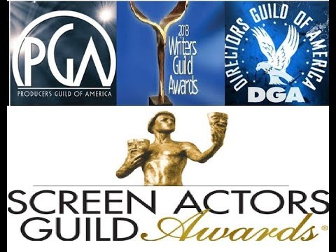 Screen Actors Guild Awards, Producers Guild, Writers Guild & Directors Guild Predictions(1-12-18)