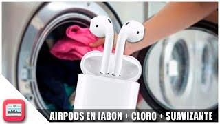 Cayeron mis Airpods en la lavadora *Final Triste*