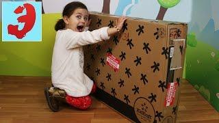 Посылка из Америки с огромным кукольным домиком Собираем дом