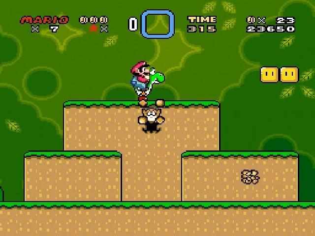 Jouez à Super Mario World sur Super Nintendo grâce à nos bartops et consoles retrogaming