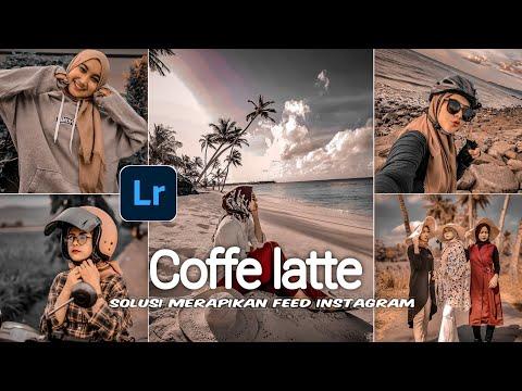 Edit foto ala selebgram coffe latte tone lightroom | free preset dng \u0026 xmp | lightroom tutorial