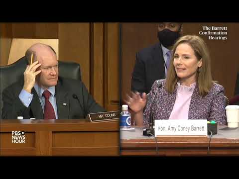 "Judge Barrett To Dem Sen: ""I Hope That You Aren't Suggesting That I Don't Have My Own Mind"""
