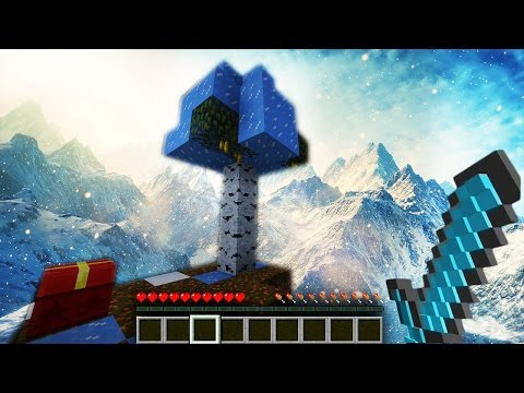 INSANE FROZEN SKYBLOCK! (24 DAYS OF POOFLESS)