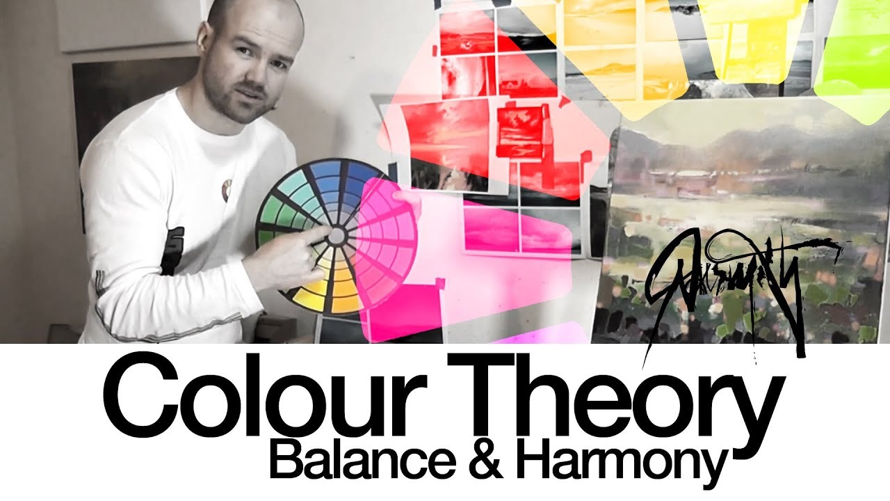 Color Theory and Practice - Magazine cover