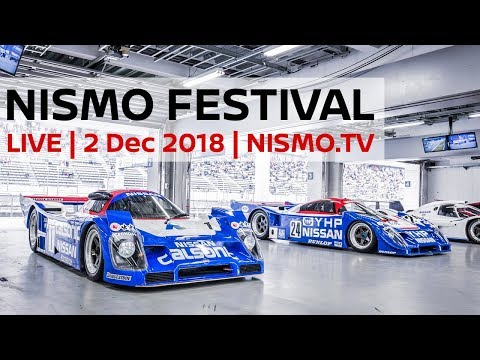 LIVE - NISMO FESTIVAL 2018 - ft. Sam Collins and Rob Barff and Live YT Chat