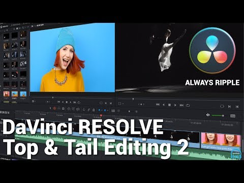DaVinci Resolve - Top & Tail Editing 2 (Always Ripple)