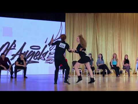 City of Angels 2018 All Stars JnJ - Ben O'Neal & Ksenia Nomberg 1st Place