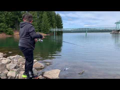 Trout Fishing At Timothy Lake 5/31/2020