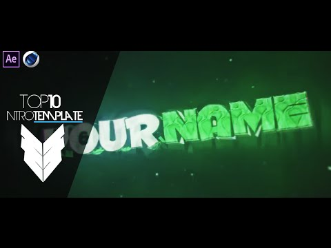 TOP 10 Intro Template #5 Cinema4D,After Effects CS4 + Free Download