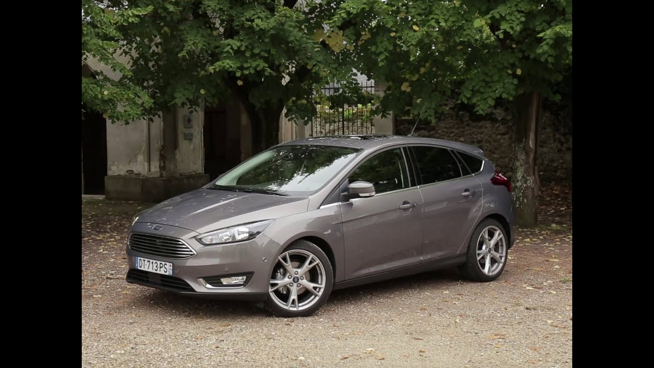 essai ford focus 1 5 tdci 120 powershift titanium 2015 youtube. Black Bedroom Furniture Sets. Home Design Ideas