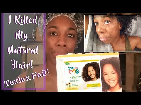 I KILLED MY NATURAL HAIR!!! EPIC TEXLAX FAIL!