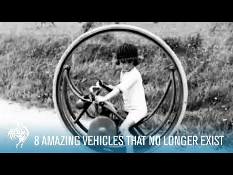 8 Amazing Vehicles That No Longer Exist | British Pathé