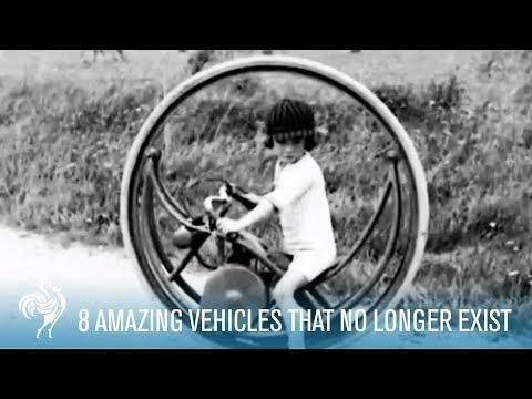 8 Amazing Vehicles That No Longer Exist