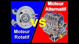 la différence entre le moteur Alternatif et Rotatif