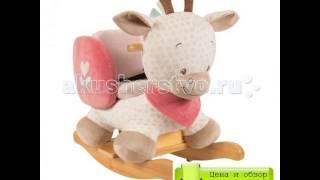 Обзор Качалки-игрушки Nattou Charlotte & Rose Жираф