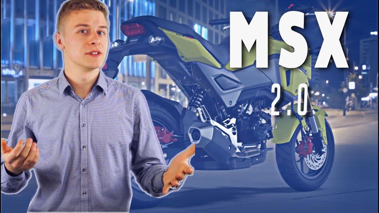 Honda MSX125 2016 - Facelift - YouTube