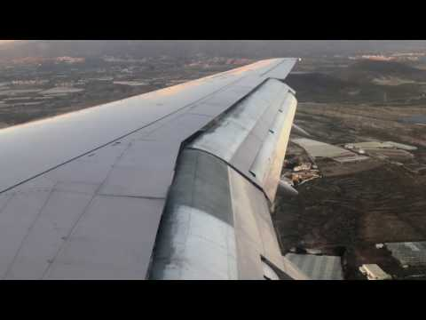 Boeing 757-200 RA-73016 Vim Airlines Tenerife South Landing