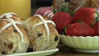 Easter Recipe - How To Make Hot Cross Buns
