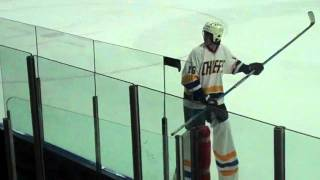 Tallest Hockey Player in the World